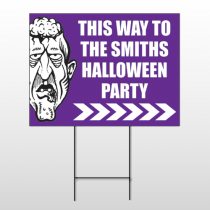 Halloween 8 Wire Frame Sign