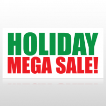 Holiday Mega Sale Banner