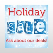 "Holiday Sale Deals 24""H x 24""W"