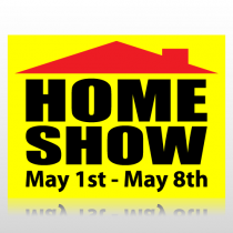 Home Show Sign Panel