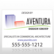 Architect 25 Custom Sign