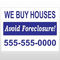 Avoid Foreclosure 163 Custom Sign