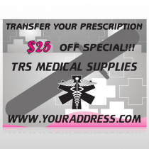 Caduceus Medical 503 Custom Decal