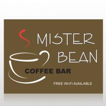 Coffee Bar 27 Custom Decal