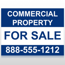 Commercial 3 Custom Sign