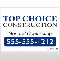 Construction 70 Custom Sign