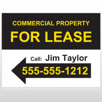 For Lease 42 Custom Sign