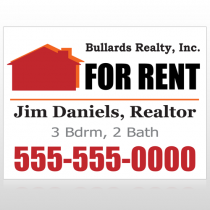 For Rent 126 Custom Sign