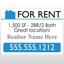 For Rent 127 Custom Sign