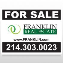 Franklin 14 Custom Sign