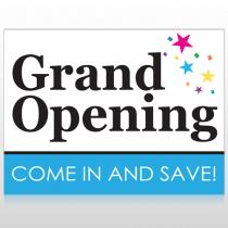 Grand Opening 89 Custom Sign