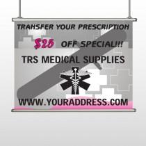 Caduceus Med 503 Hanging Banner