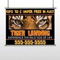 Tiger Landing 303 Hanging Banner