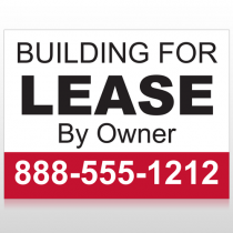 Lease 1 Custom Sign