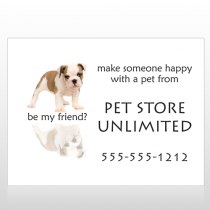Pet Store 26 Signs Custom