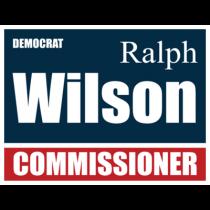 Political 38 Custom Sign