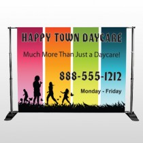 Happy Town 181 Pocket Banner Stand