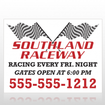 Racetrack 31 Site Sign