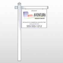 "Architect 25  18""H x 24""W Swing Arm Sign"