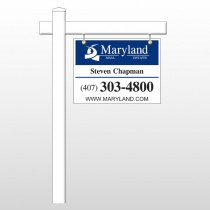 "Agent 11 18""H x 24""W Swing Arm Sign"
