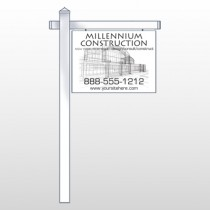 "Builder 36 18""H x 24""W Swing Arm Sign"