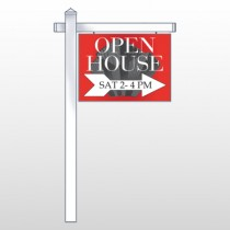 "Buildings 231 18""H x 24""W Swing Arm Sign"