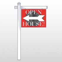 "Buildings 232 18""H x 24""W Swing Arm Sign"