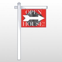 "Buildings 233 18""H x 24""W Swing Arm Sign"