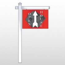 "Buildings 234 18""H x 24""W Swing Arm Sign"