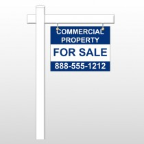 "Commercial 3 18""H x 24""W Swing Arm Sign"