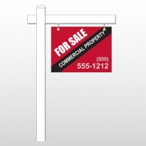 "Commercial 55 18""H x 24""W Swing Arm Sign"