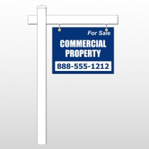 "Commercial 56 18""H x 24""W Swing Arm Sign"