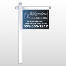 "Dry Cleaners 24 18""H  x 24""W Site Sign"