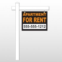 """For Rent 45 18""""H x 24""""W Swing Arm Sign"""