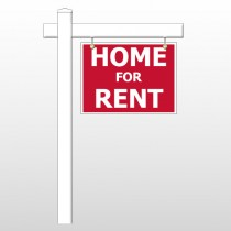 """For Rent 47 18""""H x 24""""W Swing Arm Sign"""