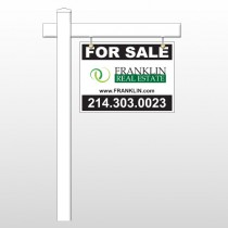 "Franklin 14 18""H x 24""W Swing Arm Sign"
