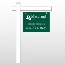 "Maryland 6 18""H x 24""W Swing Arm Sign"