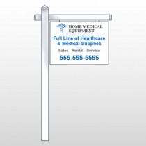 "Medicl Symbol 99 18""H x 24""W Swing Arm Sign"
