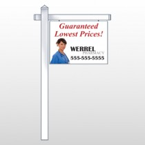 "Pharmacist 104 18""H x 24""W Swing Arm Sign"