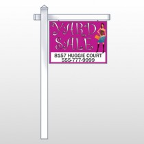 Pink Girl Sale 552 18''H X 24''W  Site Sign