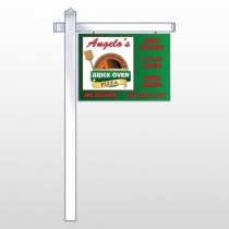 Pizza 129 Site Sign