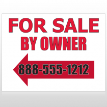 Sale By Owner 24 Custom Sign