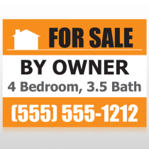 Sale By Owner 27 Custom Sign