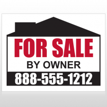 Sale By Owner 29 Custom Sign