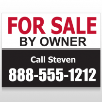 Sale By Owner 30 Custom Sign