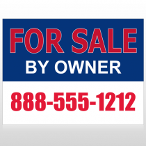 Sale By Owner 31 Custom Sign