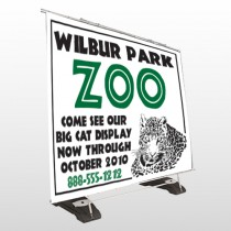 Zoo 127 Exterior Pocket Banner Stand