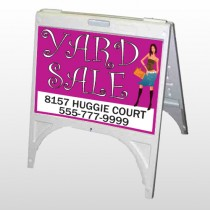 Pink Girl Sale 552 A Frame Sign