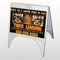 Tiger Landing 303 A Frame Sign