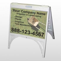 Wheel Barrow 261 A-Frame Sign